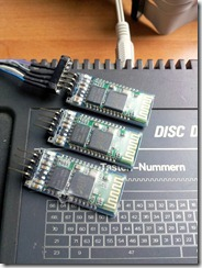 Bluetooth modules on an Amstrad CPC