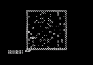 Akalabeth ported to the Amstrad CPC